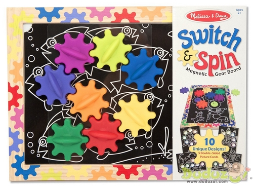 Switch & Spin Magnetic Gear Board - 產品包裝
