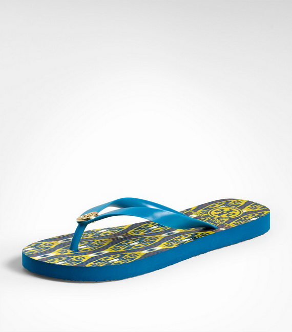2015fashion: Women's Flip Flops by Tory Burch 2013 2014