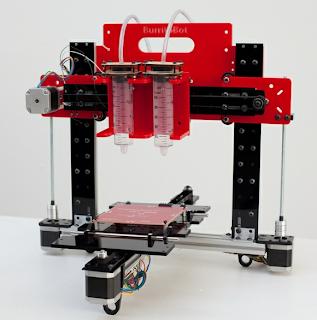 BurritoBot Printer 3 Dimensi Yang Bisa Mencetak Makanan Menggunakan Bantuan Iphone
