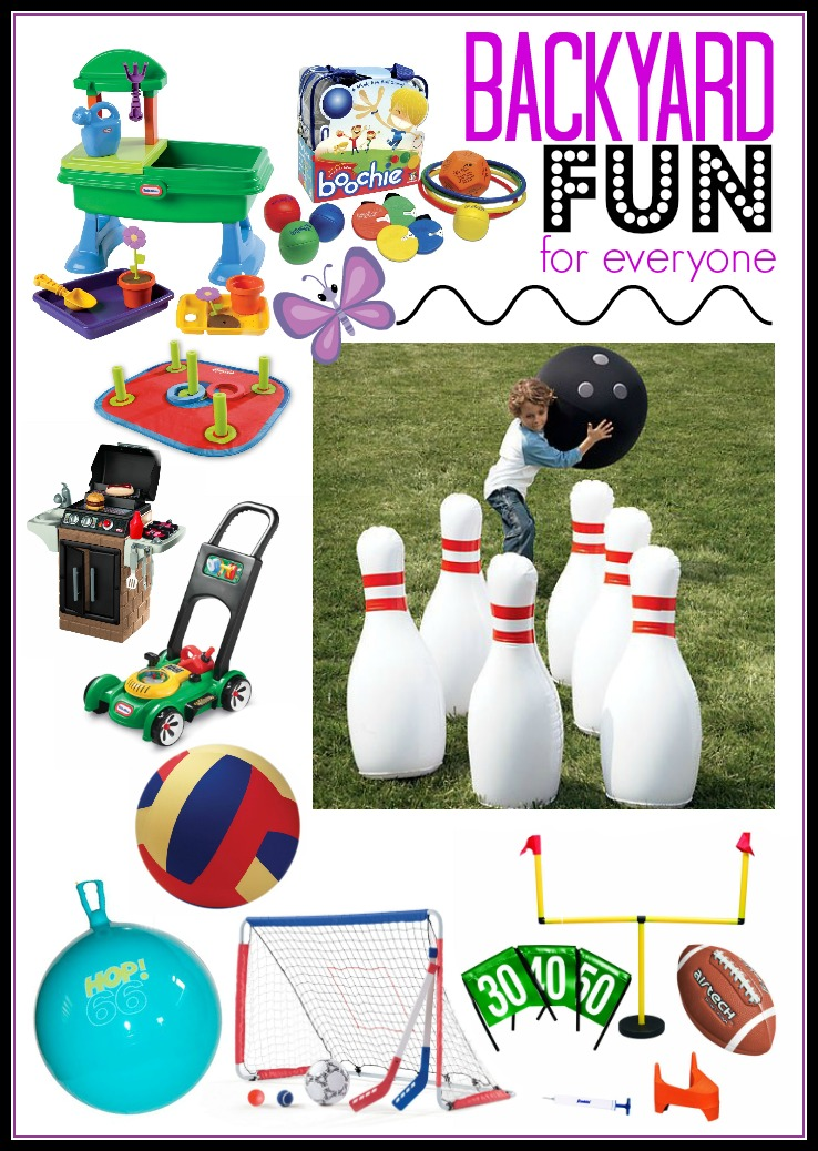 Crank up the #summer fun in your own backyard with the fun-filled products.