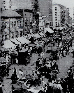 Hester Street em 1900