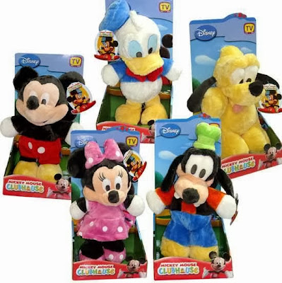 Pack Peluches Disney