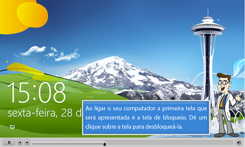 Demonstração do Curso Online de Windows 8