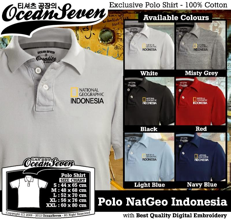 Kaos Polo NatGeo Indonesia