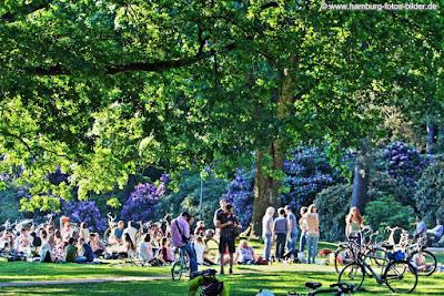 Schöner Platz im Hamburger Stadtpark