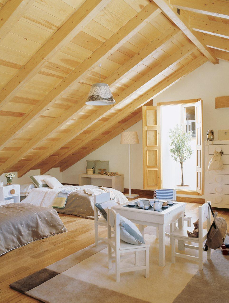 Blog by nela una buhardilla para vivir a loft for living - Habitaciones en buhardillas ...