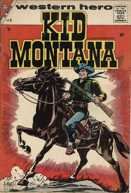 Kid Montana #9-#32, #34-#50 (1957-1965) [Charlton Comics Collection]