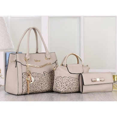 DIOR DESIGNER BAG - GREY