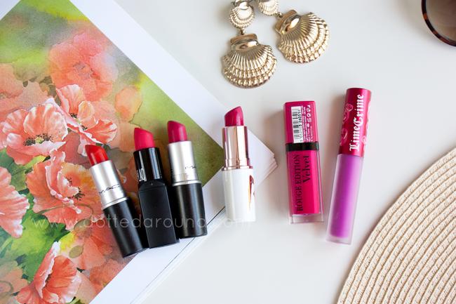 mac so chaud lipsticks bourjois velvetines Mulac