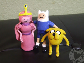 Adventure Time Clay Figures