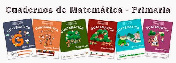 Cuadernos de Matemática - Primaria ~ RUTAS DEL APRENDIZAJE
