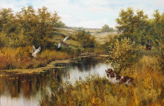 Собаки в искусстве Oxota_163