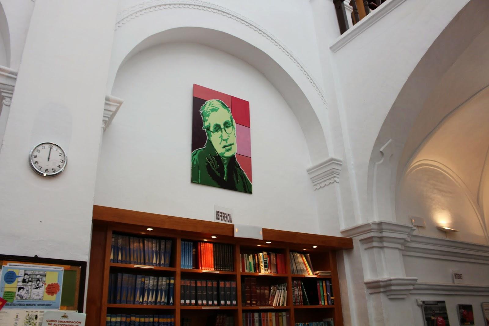 Narrogeographic conociendo la biblioteca arturo gazul en for Biblioteca iglesia madrid
