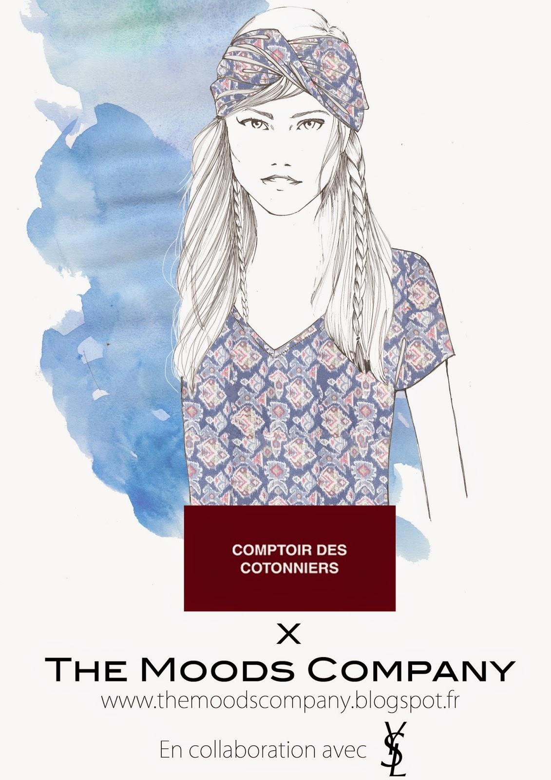 The moods company comptoir des cotonniers et the moods - Ventes privees comptoir des cotonniers ...
