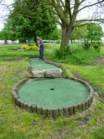 Wild Frontier Crazy Golf at the Strand Leisure Park in Gillingham, Kent
