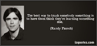 a Randy Pausch picture and quote