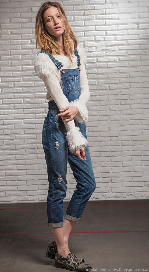 Moda jeans otoño invierno 2015. Square otoño invierno 2015 ropa de mujer.