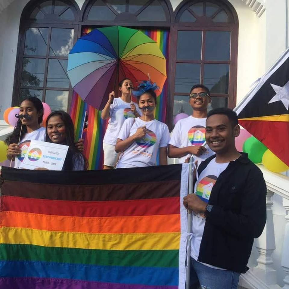 Team- Timor Leste Youth for Peace LGBT PRIDE 2k17