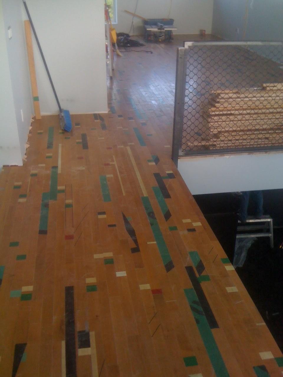 Chasing Net Zero Reclaimed Gym Floor For The Loft