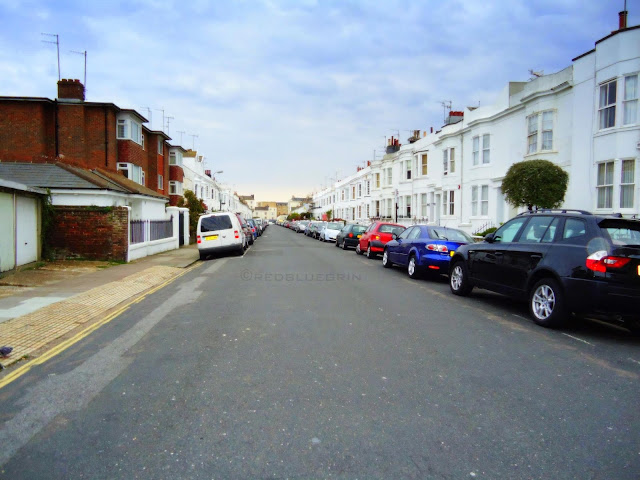 residential area in Brighton and hove, UK