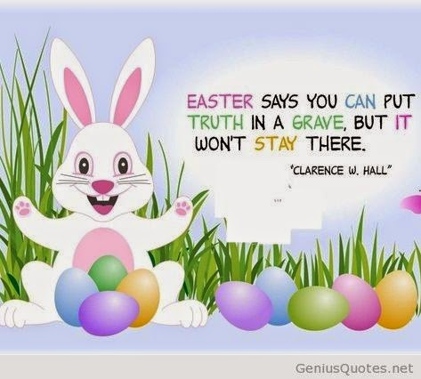 Awesome Easter image and quote with