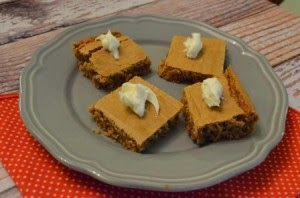 Member Fave: Cinnamon Bun Cookie Bars from Food Ramblings #recipe #SecretRecipeClub #dessert #cakemix