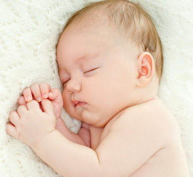 cute baby sleeping picture