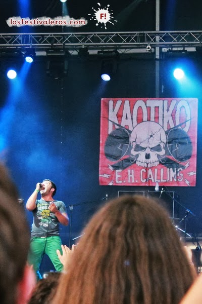 En Vivo 2013, Kaotiko