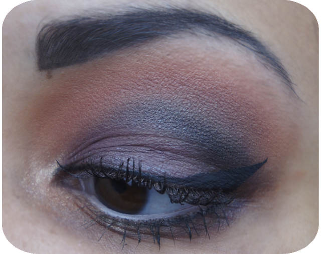 Earthnicity UK Mineral Eyeshadows Purple and Orange