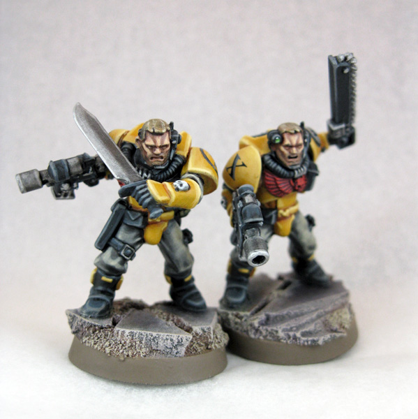 40k giveaway more imperial fists scouts - Imperial fists 40k ...