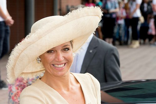 Queen Maxima of The Netherlands at the Ambassador Days 'cheer up' Stichting Opkikker,
