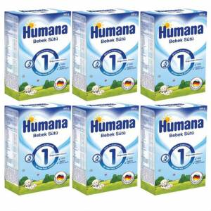 Humana 1 Başlangıç Maması 300 gr. 6 Adet