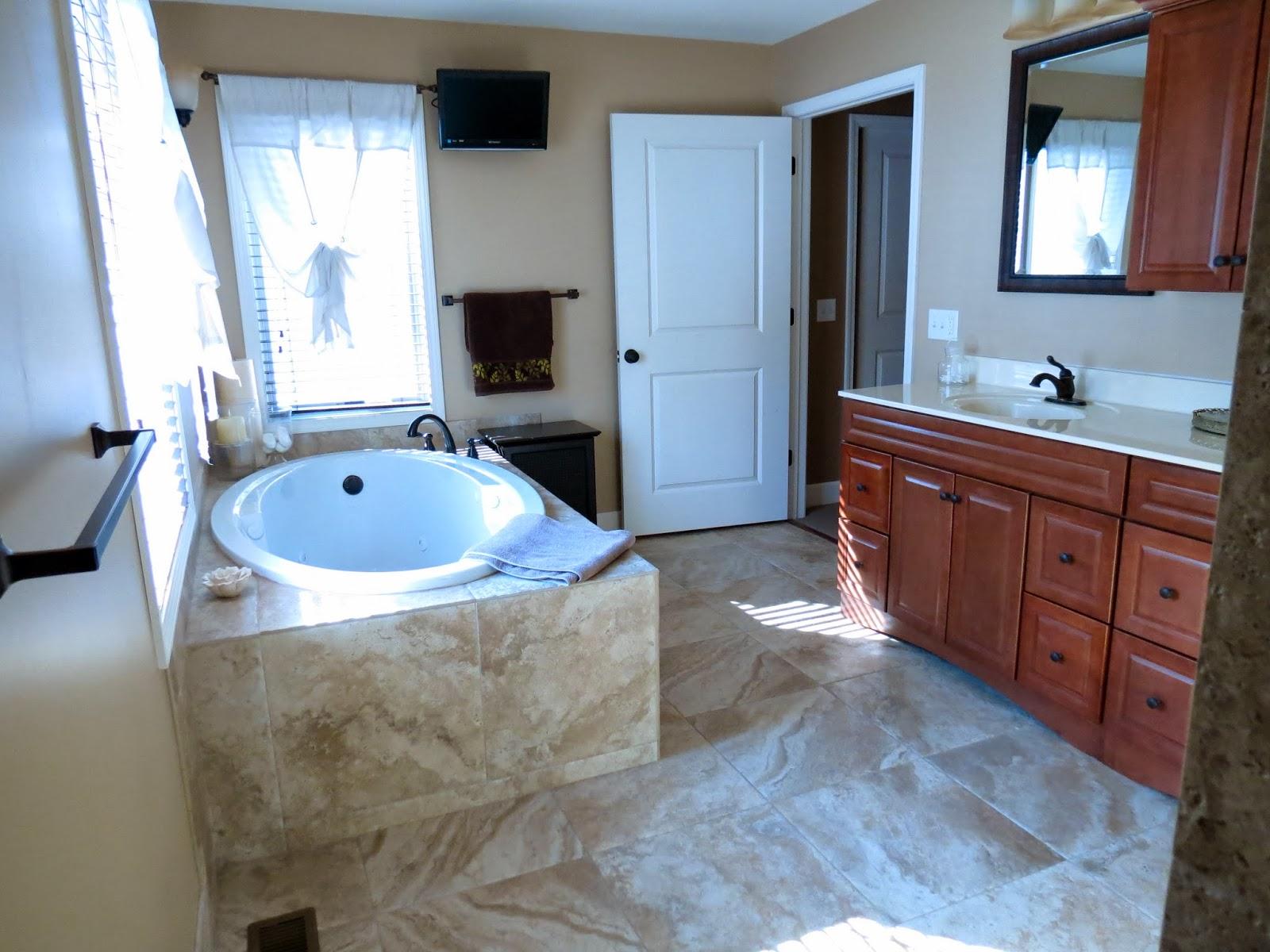Let\'s Just Build a House!: House Tour: Master Bath