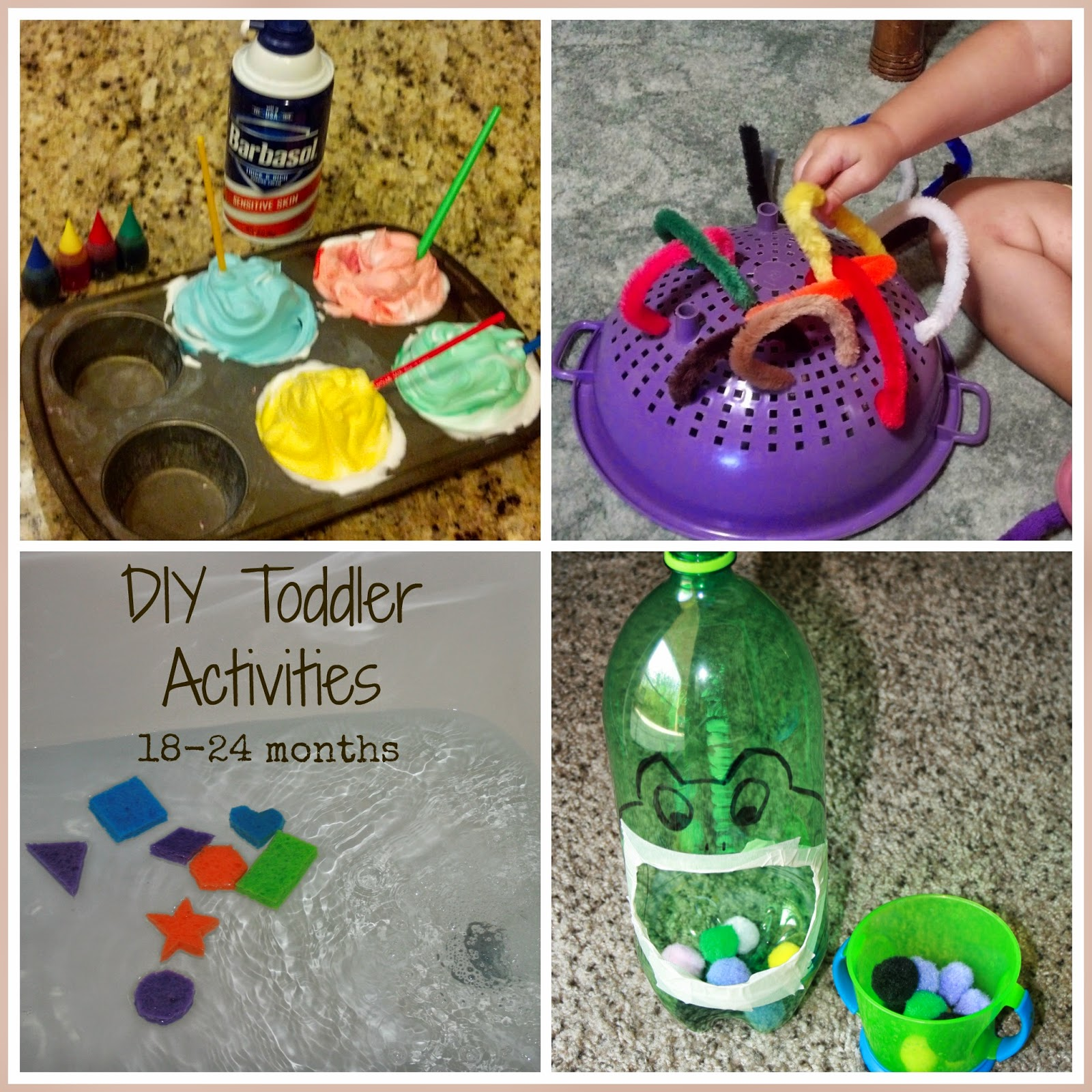 Hassle free housewife easy educational activities for for Educational crafts for toddlers