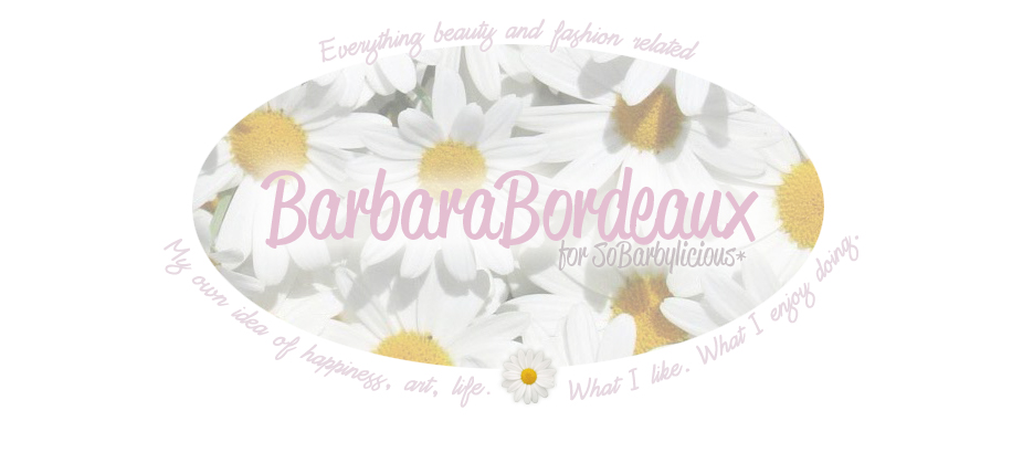 Barbara Bordeaux  for SoBarbylicious