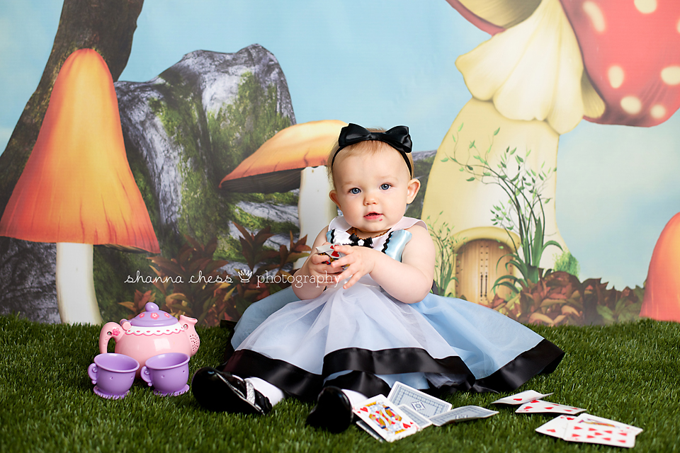 eugene, or baby photography alice in wonderland