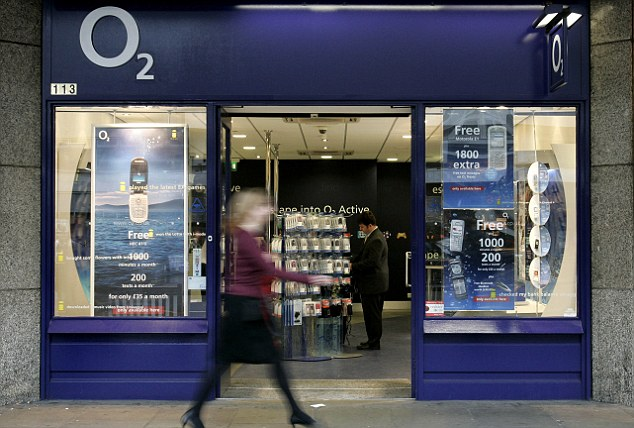 O2 Price Increase in line with inflation