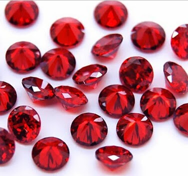 Garnet_Red_Color_Cubic_Zirconia_Round_Stones_China_Wholesale
