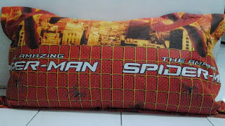 Bantal Cinta Silikon Spiderman
