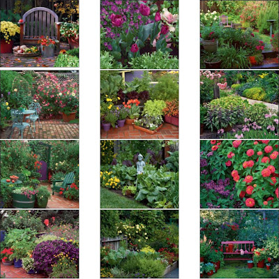 thumbnails of different gardens