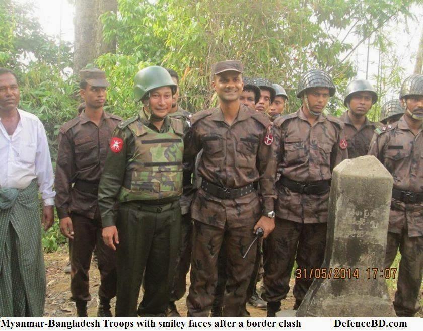 Myanmar -Bangladesh Military