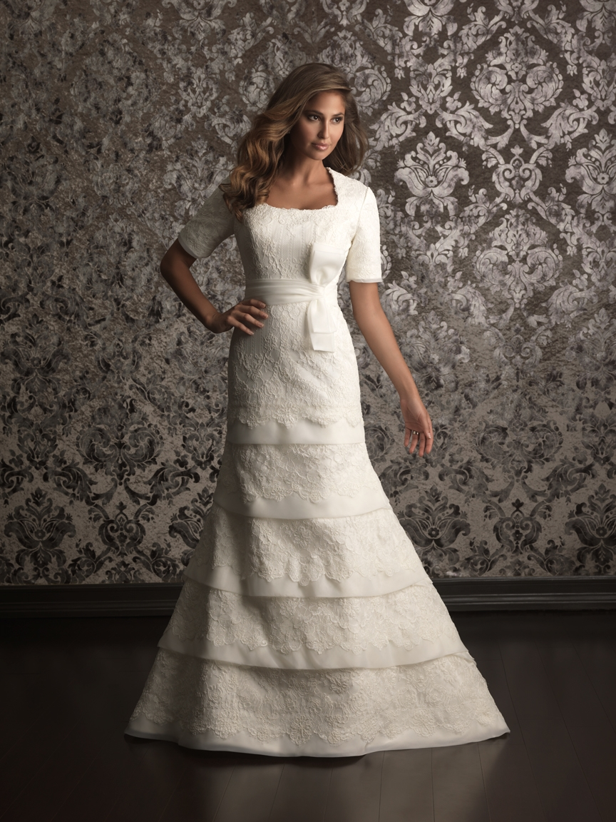 Louisville wedding blog the local louisville ky wedding for Allure modest wedding dresses
