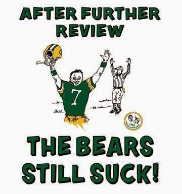 after further review the bears still suck!