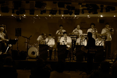 rommys Rommy Baker Orchestra   Glen Miller Sound am 06.November in Moraira