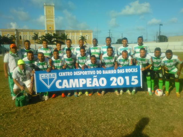 TIME CAMPEÃO 2015