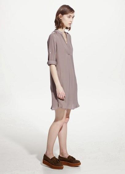 Mango 2015 Elbise Modelleri  pastel renk kısa yazlık ve günlük elbise
