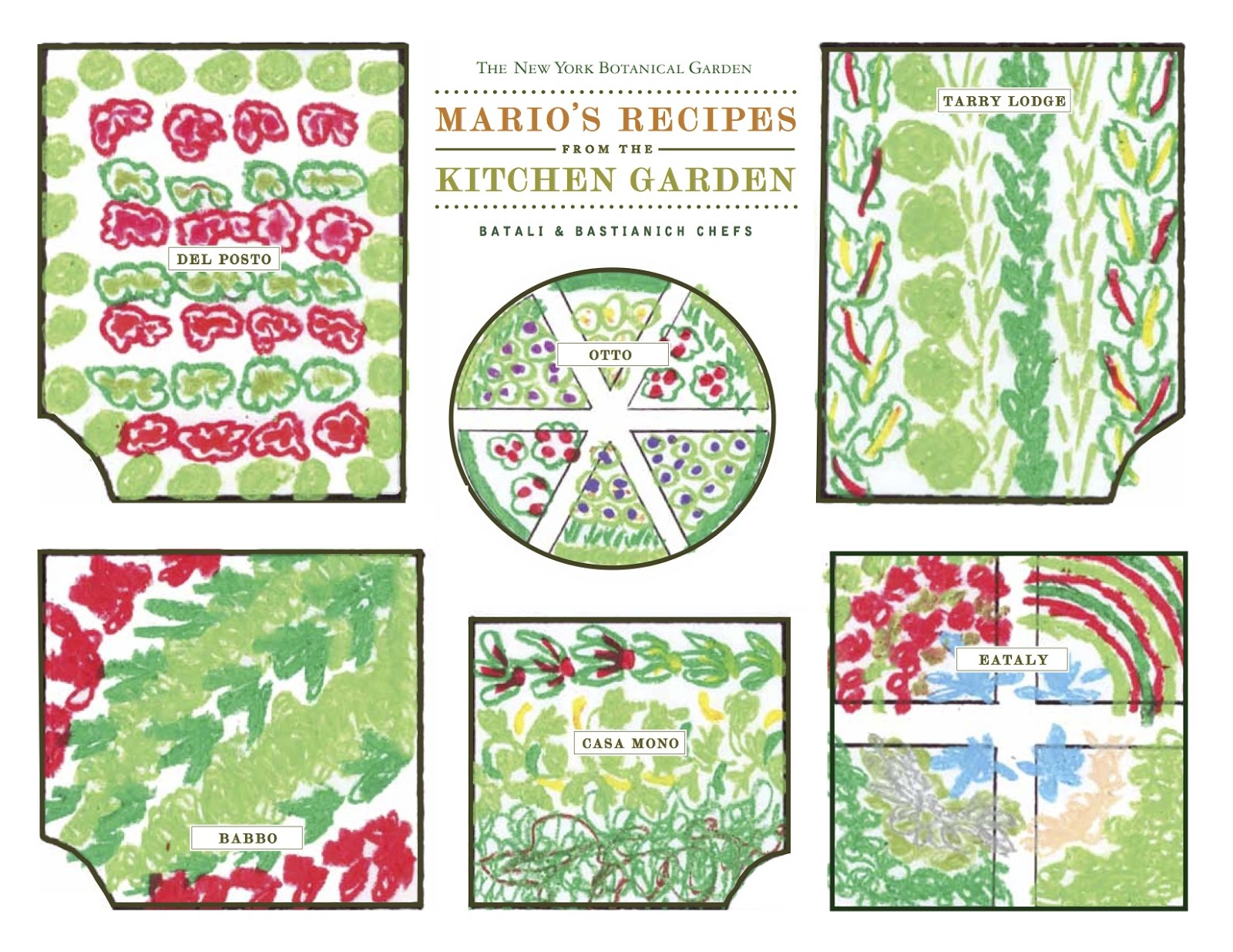 Kitchen Garden Book Homegrown Family Dinners With Mario Batalis Chefs At The New