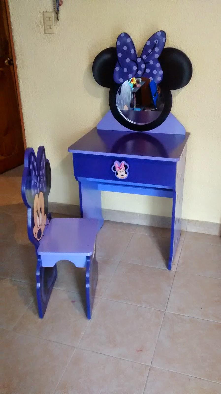 Galeria arte y dise o madekids tocador infantil minnie mouse - Tocador infantil ...