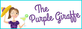 The Purple Giraffe Blog Button
