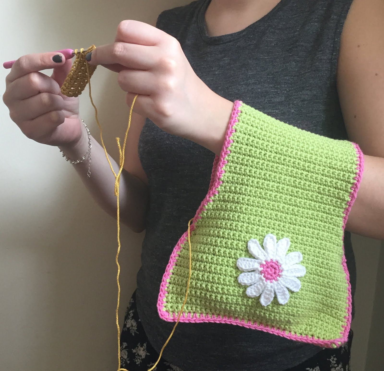 Crochet Travel Bag